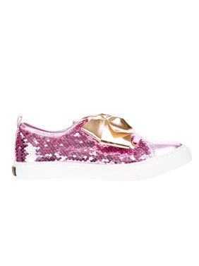 Jojo Siwa Girls' Reverse Sequins Low Top Sneaker