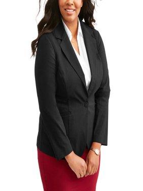 Lifestyle Attitudes Women's Plus Millennium Blazer