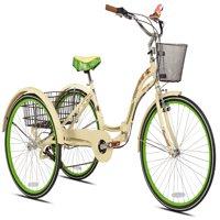 """Margaritaville 26"""" Adult, Tricycle, Cream"""