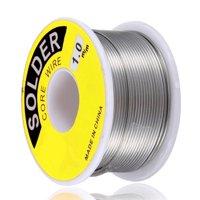Wideskall® 1.0 mm 60/40 Rosin Core Tin Lead Roll Soldering Solder Wire (45 Gram)