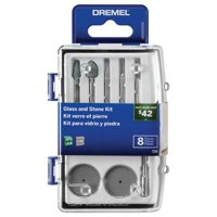 Dremel 736-01 Rotary Glass and Stone Accessory Micro Kit