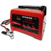 CAR BATTERY CHARGER 75 AMP 12 V ENGINE STARTER BOOSTER with Slow Charger