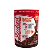 SlimFast Advanced Energy High Protein Meal Replacement Smoothie Mix, Mocha Cappuccino, 11.4oz (12 servings)