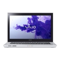 "Sony Silver Mist 14"" Touchscreen VAIO T Series SVT14124CXS Laptop PC with Intel Core i3-3227U Processor and Windows 8 Operating System"