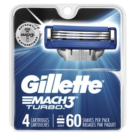 - Gillette Mach3 Turbo Men's Razor Blades (Choose Count)