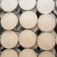LumaBase Extended Burn Tea Light Candles, 100 Count