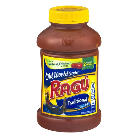 (2 Pack) Ragú Old World Style Traditional Pasta Sauce 45 oz.
