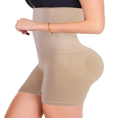Women's High Waist Ultra Firm Control Tummy Body Shaper Panty Seamless Smooth Thigh Slimmer Body Shorts Shaping Brief Shapewear