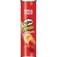 (4 Pack) Pringles Potato Crisps Chips Mega Stack, Original, 6.8 Oz