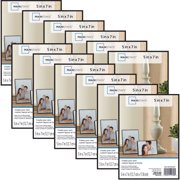 "Mainstays 5"" x 7"" Format Picture Frame, Black, Set of 12"