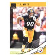 64219a1caee 2018 Donruss  247 T.J. Watt Pittsburgh Steelers Football Card