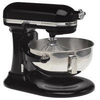 KitchenAid RRKG25H0XOB Professional 5 Plus Series Stand Mixers - Onyx Black (CERTIFIED REFURBISHED)
