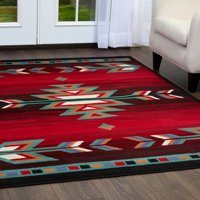 Home Dynamix Premium Collection Southwest Area Rug for Modern Home Decor