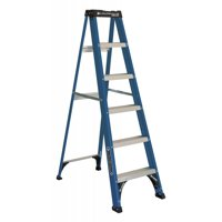 Louisville Ladder 6-Foot Fiberglass Step Ladder, 225-Pound Capacity, Type II, W-3217-06