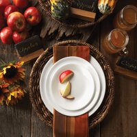 Corelle Livingware Winter Frost White Dinnerware Set, 16 Piece