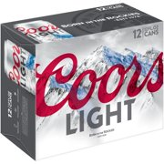 Coors Light Beer, 12 pack, 12 fl oz