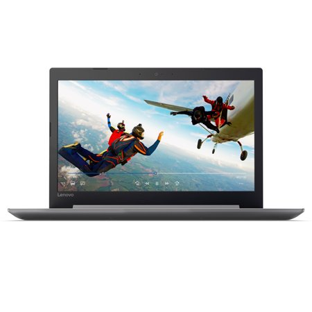 "Lenovo ideapad 320 15.6"" Laptop, AMD A12-9720P Quad-Core Processor, 8GB RAM, 1TB Hard Drive, DVDRW, Windows 10 - Platinum Grey - 80XS00EJUS"