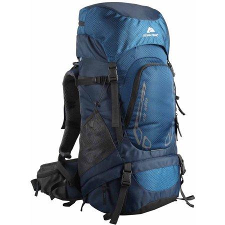 Ozark Trail Hiking Backpack Eagle 40l Capacity Blue Walmart Com