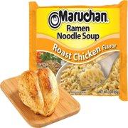 (24 Packs) Maruchan Roast Chicken Instant Ramen, 3 oz