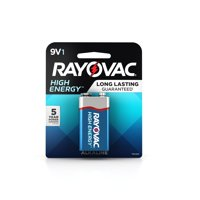 Rayovac High Energy Alkaline, 9V Batteries, 1 Count