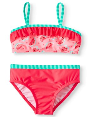 Printed 2-Piece Swimsuit (Toddler Girls)