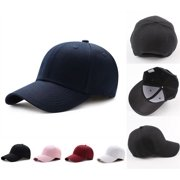 91fbcea71f3 Fashion Men Women Solid Snapback Baseball Ball Cap Outdoor Sports Hats  Adjustable Hat