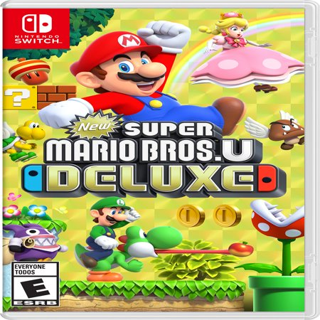 Your choice of Nintendo Mario Game for Switch