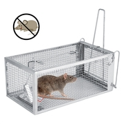 Tbest Rat Trap Small Live Animal Humane Cage Pest Rodent Mouse Mice Rodents