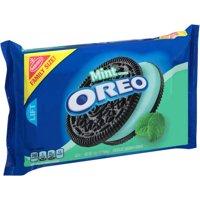 (2 Pack) Nabisco Mint Creme Oreo Chocolate Sandwich Cookies, 20 oz