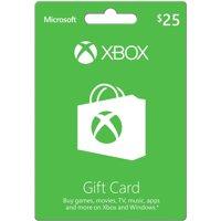 Microsoft Xbox Gift Card $25