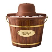 Best Electric California Electric California Ice Cream Makers - Nostalgia ICMW400 Vintage Collection 4-Quart Wood Bucket Electric Review