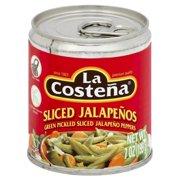 La Costena Sliced Jalapeños, 7 Oz