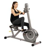 Sunny Health & Fitness SF-RB4631 350lb Capacity Recumbent Bike