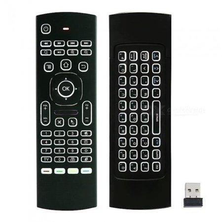 Backlit Glow Wireless remote for Android  8.1 & Later TV Box Jetstream Nvidia Shield & Mi Box R99 Beelink GT1 A95X X96 Mini Yundoo Minux U1 Gembox Q-Box G-Box H96 MXQ PRO T9 T95Z S805 (Best Iptv For Nvidia Shield)