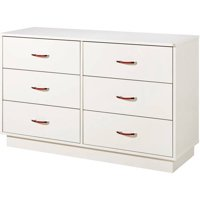 South Shore Logik 6-Drawer Double Dresser, Multiple Finishes