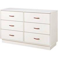 South Shore Logik 6-Drawer Double Dresser, Multiple Finishes