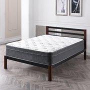 Modern Sleep Palmetto Hybrid Latex and Innerspring 12-Inch Mattress, Multiple Sizes