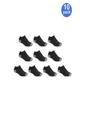 Men's No Show Socks 10 Pack