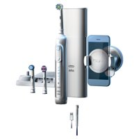 Oral-B 8000 ($55 in Rebates Available!) Electronic Toothbrush, White, Powered by Braun