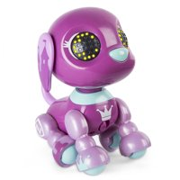 Zoomer Zupps Royal Pups, Queen Beagle, Litter 4 - Interactive Puppy with Lights, Sounds and Sensors