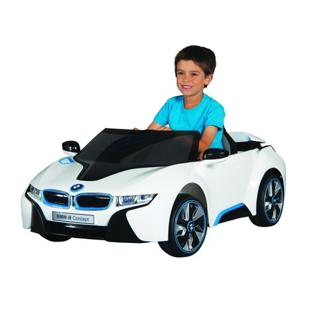 6 Volt Battery BMW i8 Concept Ride On Toy Car - Ride On Toys For 4 Year Olds