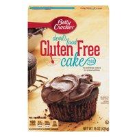 Betty Crocker Gluten Free Devil's Food Cake Mix, 15 oz