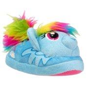 8fb1da665023 My Little Pony Toddler Girls Blue Rainbow Dash Slippers House Shoes