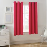 Mainstays Room Darkening Single Window Curtain Panel