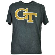 0b664ec2b9f NCAA Georgia Tech Yellow Jackets Charcoal Tshirt Tee Mens Adult Short  Sleeve XL