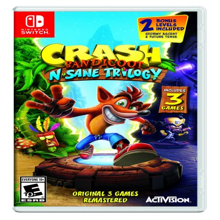 Crash N. Sane Trilogy, Activision, Nintendo Switch, 047875881990 ()