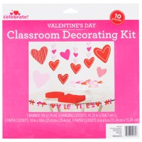 Way To Celebrate Valentine's Day Classroom Decorating Kit