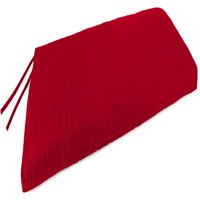 Mainstays Solid Red Outdoor Patio Bench Cushion
