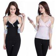 71252ada7f Hands-free Breast Pump Nursing Bras Maternity Tops Breastfeeding Vest  fallinlovers