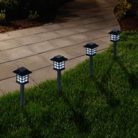 Outdoor Lantern Solar Landscaping Lights - Set of 6 by Pure Garden